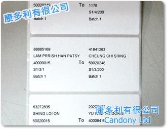 外箱標籤貼紙 Carton Box Label, Shipping Mark Label